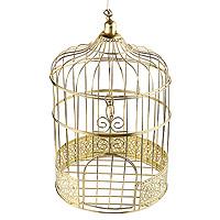 Tirelire Cage Dorée