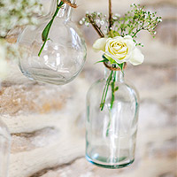 Le Vase Vintage Bouteille à la Mer à Poser ou Suspendre