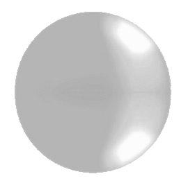 Ballon Géant Mariage 1m Gris