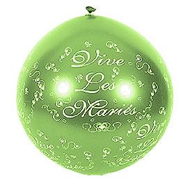 Ballon Géant Vive les Mariés 1 m