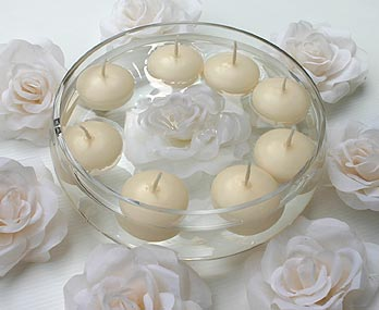 1000 images about wedding candles on pinterest floating candles silver ta - Bougies flottantes ikea ...