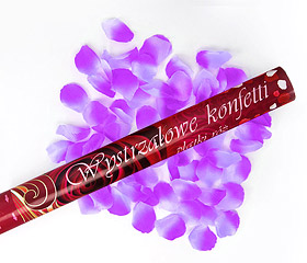 Canon Explosif Petales de Rose Parme