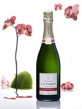Champagne Personnalisé Mariage de Jean de Telmont