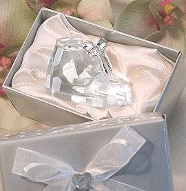Le Chausson Bébé Cristal Boite Cadeau