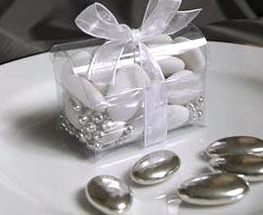 Dragée Chocolat Argent