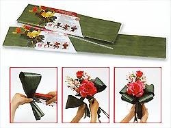 Feuilles Vertes Décoration Florale Artificielle Vert Anis
