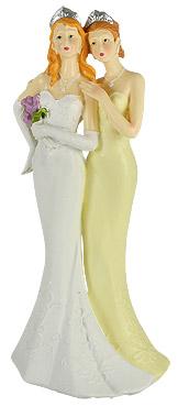 Figurine Mariage Pacs ou Mariage Femmes