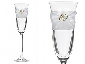 Flutes Champagne Toast Mariage