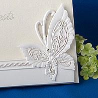 Livre d'Or Mariage Relief Papillon