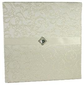 Livre d'Or Mariage Moiré Satiné Luxueux