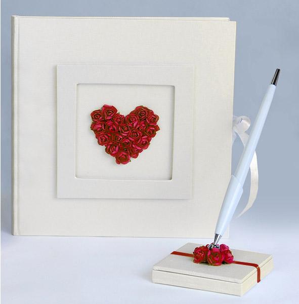 porte stylo registre livre d 39 or roses rouges livres d 39 or. Black Bedroom Furniture Sets. Home Design Ideas