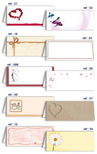 chevalets carton marque places x10 porte nom mariage original. Black Bedroom Furniture Sets. Home Design Ideas