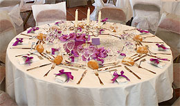 - Nappe Ronde Mariage