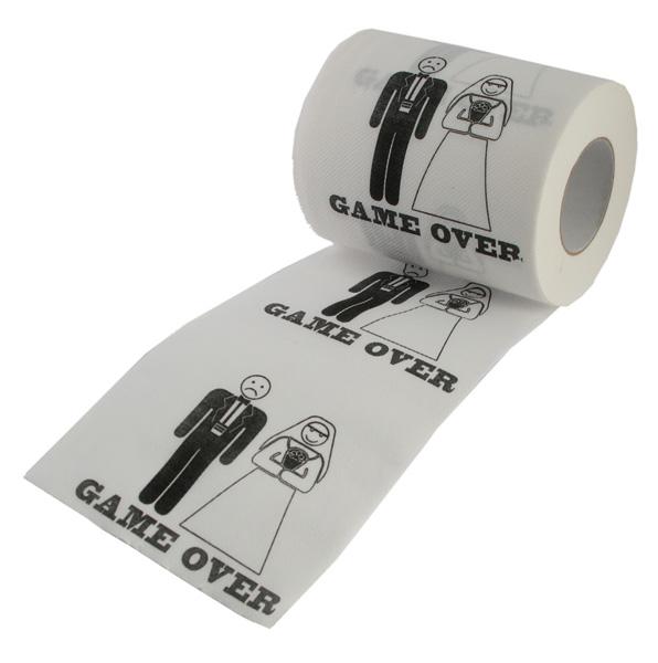 31ecce8cda533b Rouleau de Papier Toilette Mariiage Game Over   Accessoires Fun Mariage