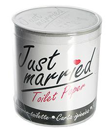 Papier toilette Mariage