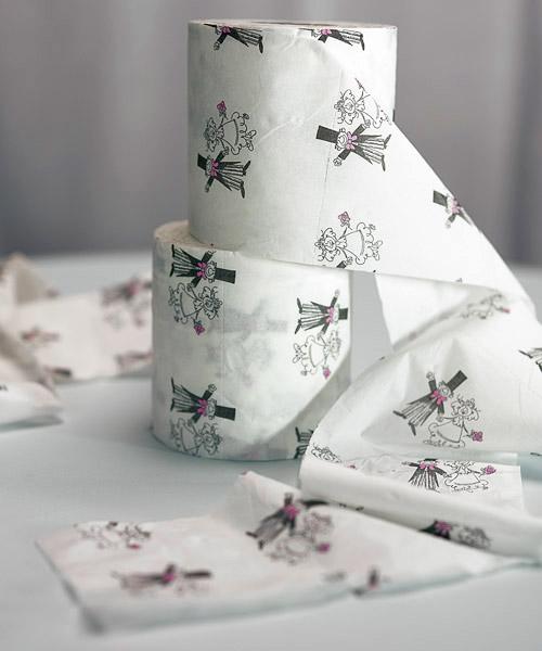 Rouleau papier toilette mari s humoristique accessoires fun mariage - Papier toilette mariage ...
