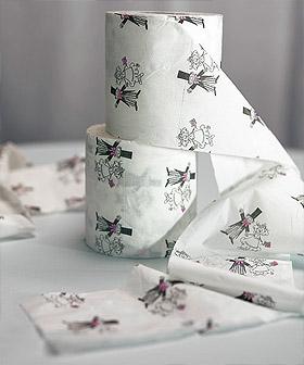 Rouleau Papier Toilette Mariés Humoristique