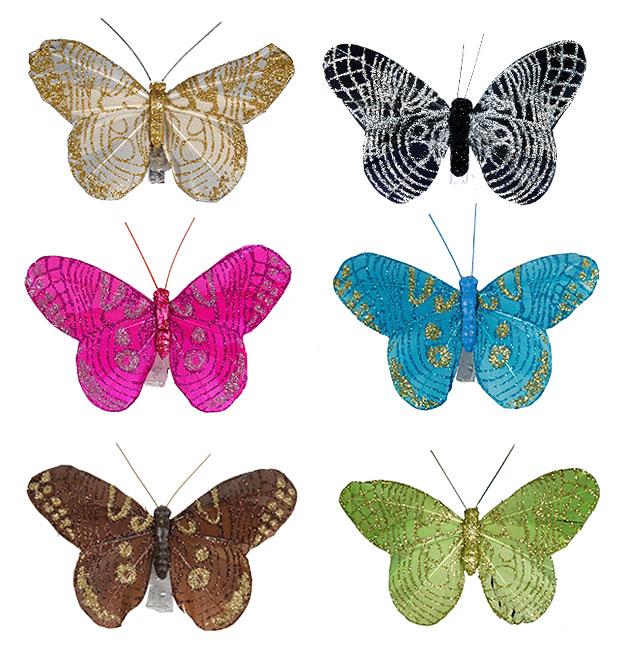Papillons Paillet 233 S Pince D 233 Coration Table Mariage Th 232 Me