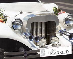 Plaque Voiture Mariage discount