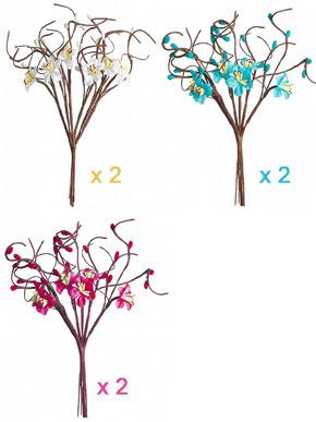 Branches Fleurs de Pommier Décoration Table