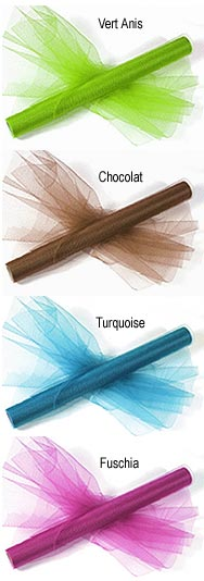 Tulle Mariage Grande Largeur