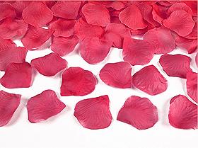 100 Pétales de Rose Artificiels Mariage Fuchsia