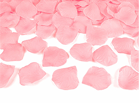 100 Pétales de Rose Artificiels Mariage Rose