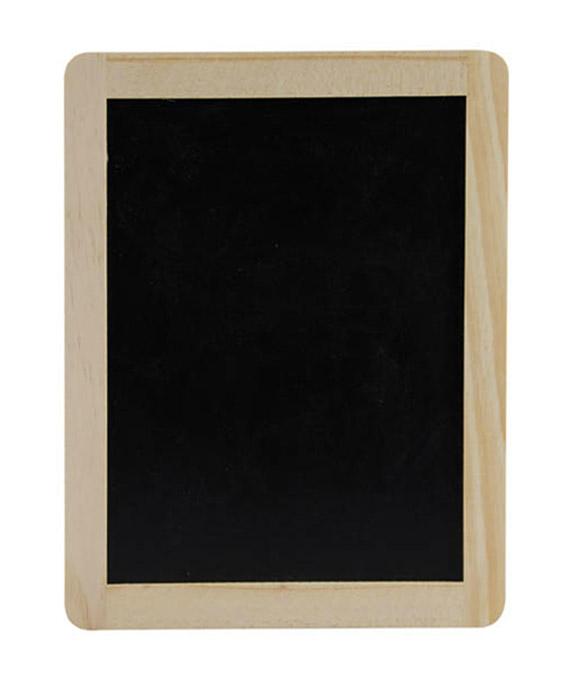 grande ardoise en pin 26 5 cm avec support candy bar. Black Bedroom Furniture Sets. Home Design Ideas
