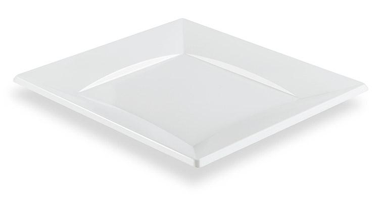 assiettes jetables carr es mariage vaisselle jetable. Black Bedroom Furniture Sets. Home Design Ideas