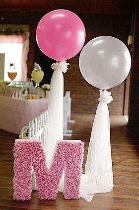 Ballon géant 1m de décoration