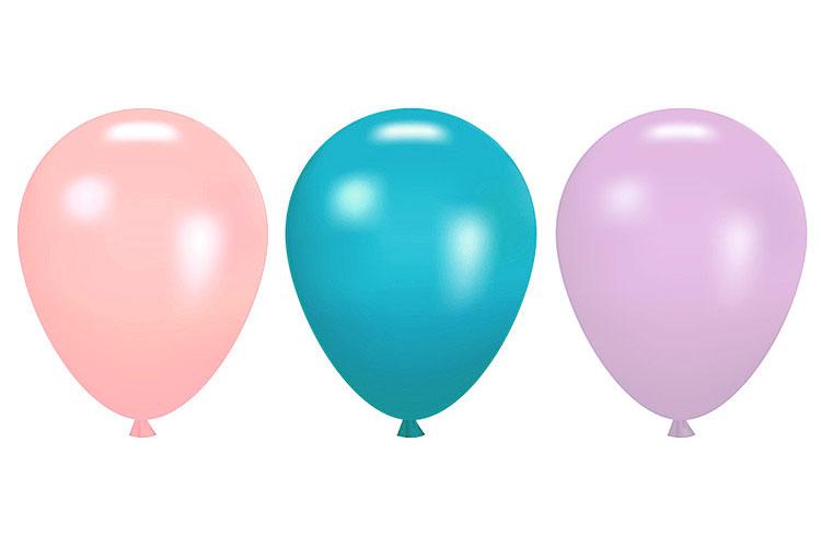 Ballon Mariage nacré