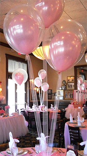 Ballons Transparents Mariage Cristal Rose Transparent