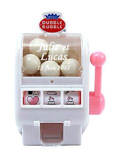 Mini Machine à Chewing-Gum Jackpot Cadeau Invité