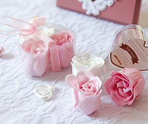 Fleurs de Bain Savon en Forme de Rose