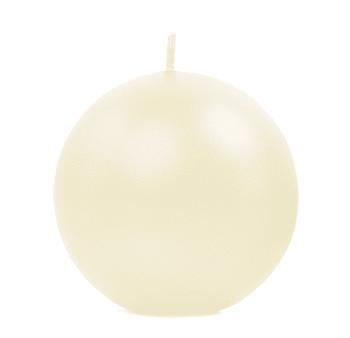 Bougie Ronde Sphère Boule 6cm pas cher