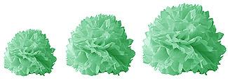 Boules Crépon Décoration vert