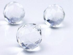 Boule Cristal Pendentifs Deco Mariage Transparent