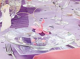 Boules Pvc Contenant Dragées Mariage