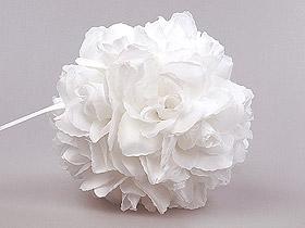 Boule Fleurs Artificielles Roses Mariage