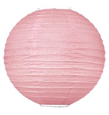 Boule Lampion Mariage 50cm rose