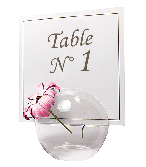la boule en verre soliflore centre de table noel. Black Bedroom Furniture Sets. Home Design Ideas