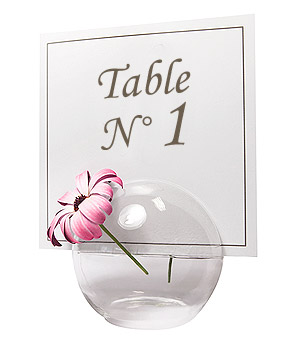 Boule Verre Soliflore Centre Table
