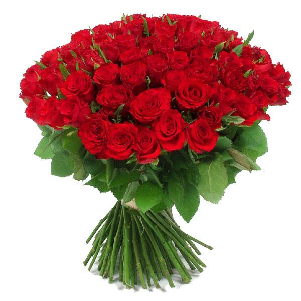 Bouquet 101 Roses Rouge Bouquets Fleurs Mariage