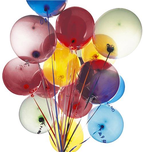 Joyeux anniversaire! Bouquet-ballon-helium