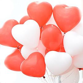 Bouquet de ballons coeur