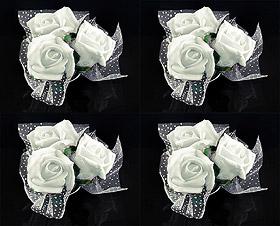 Fleurs Ventouse Décoration Voiture Mariage