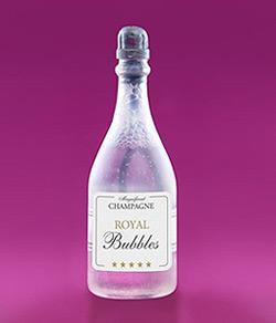 Bouteille Champagne Bulle de Savon Mariage Transparent