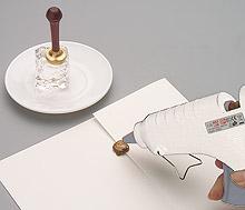 Cachet de cire faire-part et enveloppes application