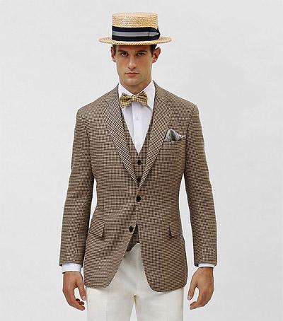 Chapeau paille mode homme