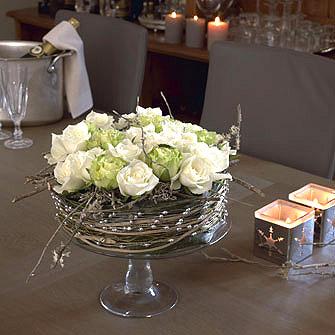 Centre Table Fleurs Mariage